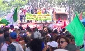 Brasil tem dia de protestos contra reformas trabalhista e da Previdência
