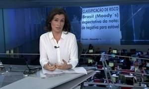 Moody´s muda expectativa de nota do Brasil de negativa para estável