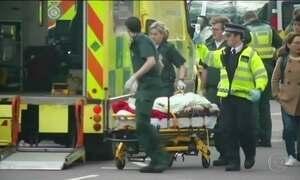 Atentado terrorista deixa mortos e feridos no coração de Londres
