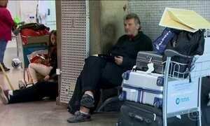 Alemão acusado de agredir pessoas no aeroporto tem que deixar o Brasil