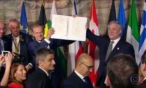 União Europeia completa 60 anos renovando compromisso de unidade