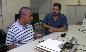 Estudantes criam impressora Braile que funciona por comando de voz