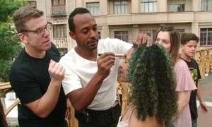 Hoje é dia de maquiagem: beleza na rua