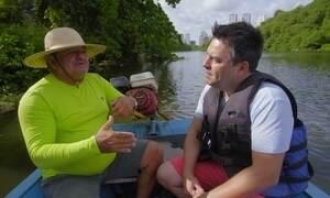 Expedição Urbana navega pelas águas do Rio Capibaribe