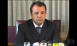 Sérgio Cabral é denunciado por corrupção e organização criminosa