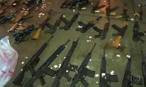 Fantástico mostra bastidores da maior apreensão de armas já feita no Brasil