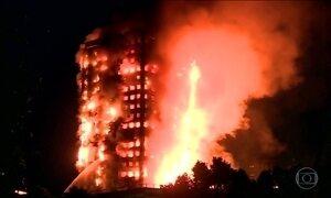 Incêndio mata 12 pessoas e fere 78 em Londres