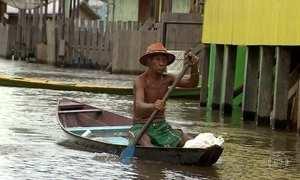 Cheias deixam 39 municípios em estado de emergência no Amazonas