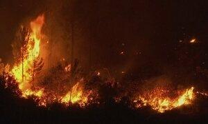 Chamas do incêndio em Portugal podiam ser vistas do espaço