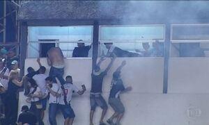 Justiça desportiva pune Vasco por tumulto em São Januário contra o Fla