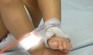 Menina colombiana com sangue raro encontra doador no Brasil