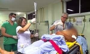 Drauzio Varella acompanha rotina do Hospital Geral de Alagoas
