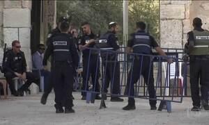 Israel tira detectores de metais da entrada de palestinos em Jerusalém