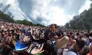 Lollapalooza: veja imagens exclusivas em 360 graus da edição de Chicago
