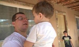 Após susto, quatro famílias do Grande Rio têm Dia dos Pais especial