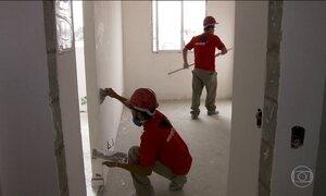Construção civil tem crescimento de vagas em julho