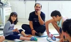 Atividades circenses ajudam autistas
