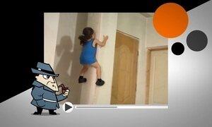 Garotinho que sobe pelas paredes pode ser filho do Homem-Aranha?