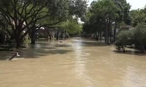 Harvey é responsável pela chuva mais pesada já registrada nos EUA