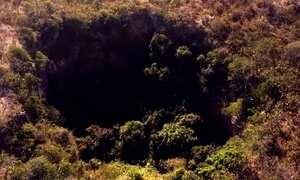 Fantástico acompanha expedição ao Buraco do Inferno, em Goiás