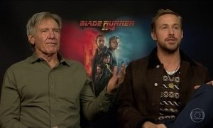 Em novo 'Blade Runner', Harrison Ford ganha ajuda de Ryan Gosling