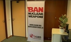 Nobel da Paz vai para campanha mundial para abolir armas nucleares