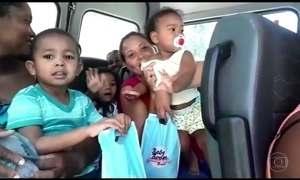 Crianças recebem alta neste sábado (7) após incêndio em creche de MG
