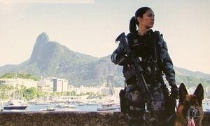 Jovem policial inspirou a personagem Jeiza em 'A Força do Querer'