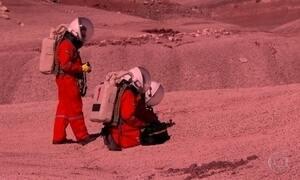 Pesquisador brasileiro visita estação no deserto que simula planeta Marte