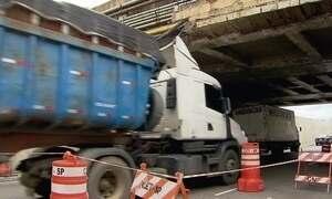 Blitz em pontes e viadutos revela perigos no caminho dos paulistanos