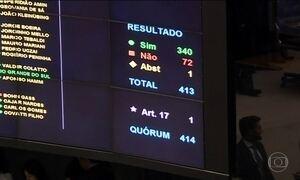 Câmara aprova com folga intervenção na segurança do RJ