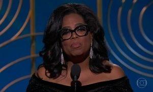 Oprah Winfrey é uma gigante na vida real e no filme 'Uma dobra no tempo'