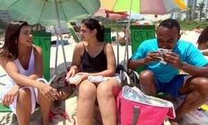 "Hoje é dia de comida de praia: a ""farofa"""