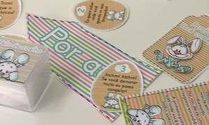 Microempreendedora trabalha com papelaria personalizada