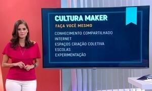 """Empreendedores da """"cultura maker"""" ajudam estudantes a criar projetos"""