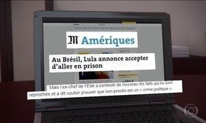 Imprensa internacional noticia prisão de ex-presidente Lula