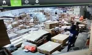 Carga de celulares de última geração é roubada no aeroporto do Galeão