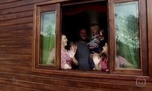 Cidade catarinense vive de portas e janelas abertas