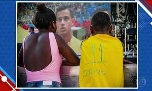 Menino que queria camisa de craque do Brasil prova que futebol é paixão