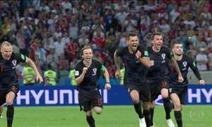 Croácia vai enfrentar a Inglaterra e a irritação da torcida russa