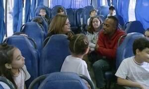 Hoje é dia de volta às aulas: transporte escolar