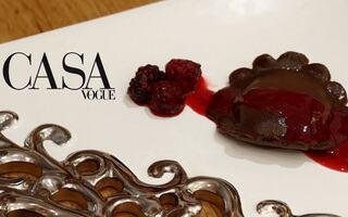 Receita de flor de chocolate recheada