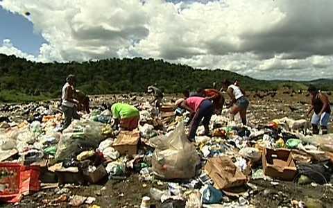 Lixo não tem o destino adequado