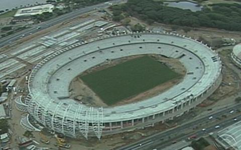 Obra do Beira-Rio est 68,5% concluda