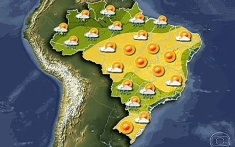 Veja como vai ficar o clima no fim de semana em todo o pas