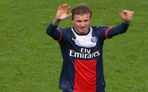 No dia do adeus, Beckham deixa o campo chorando
