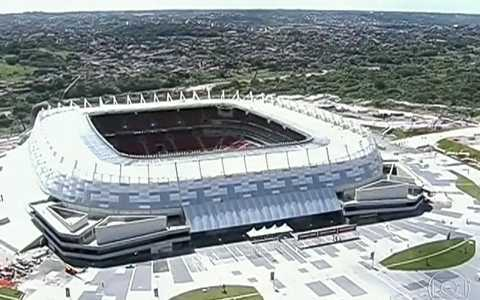 Estdio Arena de Pernambuco  inaugurado