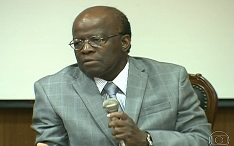 Declaraes de Joaquim Barbosa geram reaes (Divulgao / TV Globo)