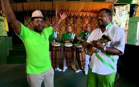 Império da Tijuca mostra  a história do seu samba