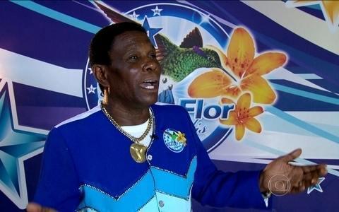 Neguinho da Beija-Flor lembra criação de samba